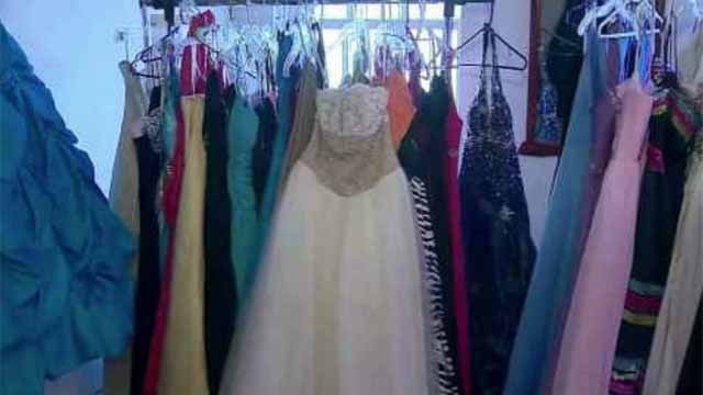 Between dresses, makeup, hair, tickets and a limousine, prom can cost a pretty penny. (WFSB)