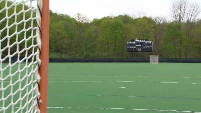A neighborhood battle is brewing in Hamden over a plan by Quinnipiac University to build two athletic fields on campus. (WFSB)