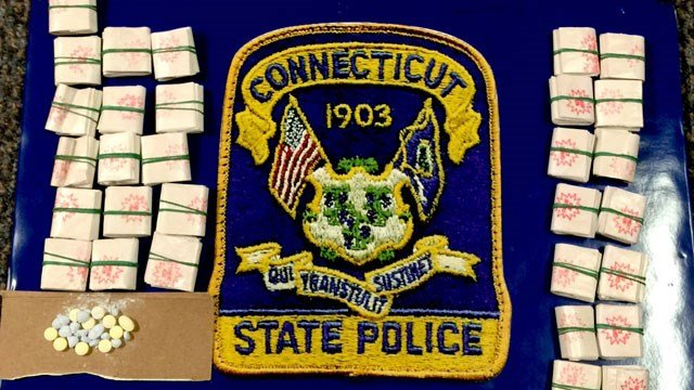 The following bags of heroin seized by the Quality of Life Task Force. (CT State Police)