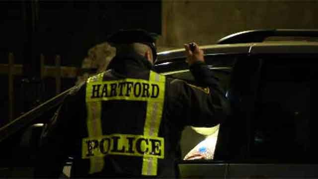 To keep everyone safe, Hartford police stepped up their DUI enforcement on Thursday by having a checkpoint, screening every driver that went by. (WFSB)