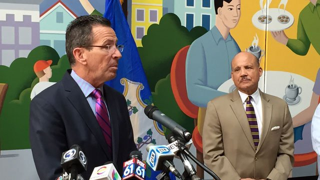 Malloy held a news conference after a another person in the state tested positive for the Zika virus (WFSB)