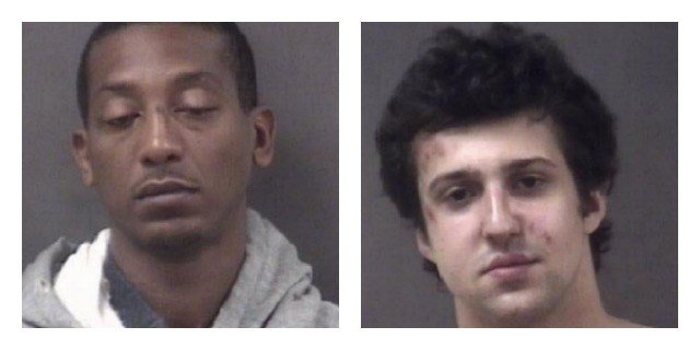 Karim Harrison and Harrison Rowbotham were arrested on drug charges. (Milford Police Department)