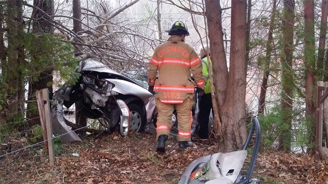 Serious crash reported on Route 149. (Colchester Hayward Volunteer Fire Company Facebook)