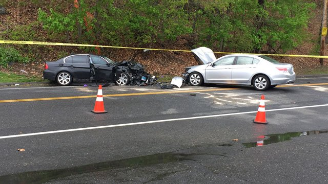 A woman was killed in a Shelton crash on May 6 (WFSB)