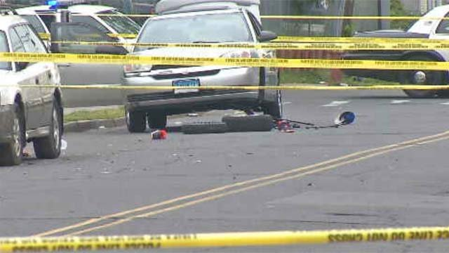 A 34-year-old man was killed early Sunday morning in Hartford in a hit-and-run crash. (WFSB)
