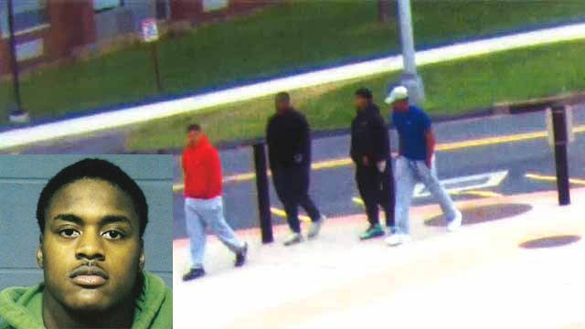 James Mayze was one of four people who entered a University of Hartford dorm room last month in connection with an attempted robbery. (Hartford police/UHart photos)