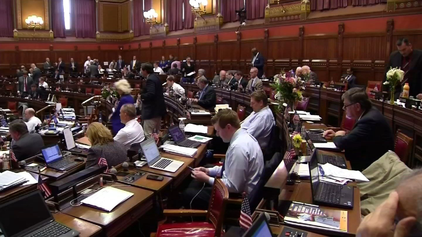 The legislative session ran out before lawmakers could come to a budget agreement. (WFSB photo)