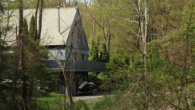 The home in Sherman where Stackowitz was found. (WFSB photo)