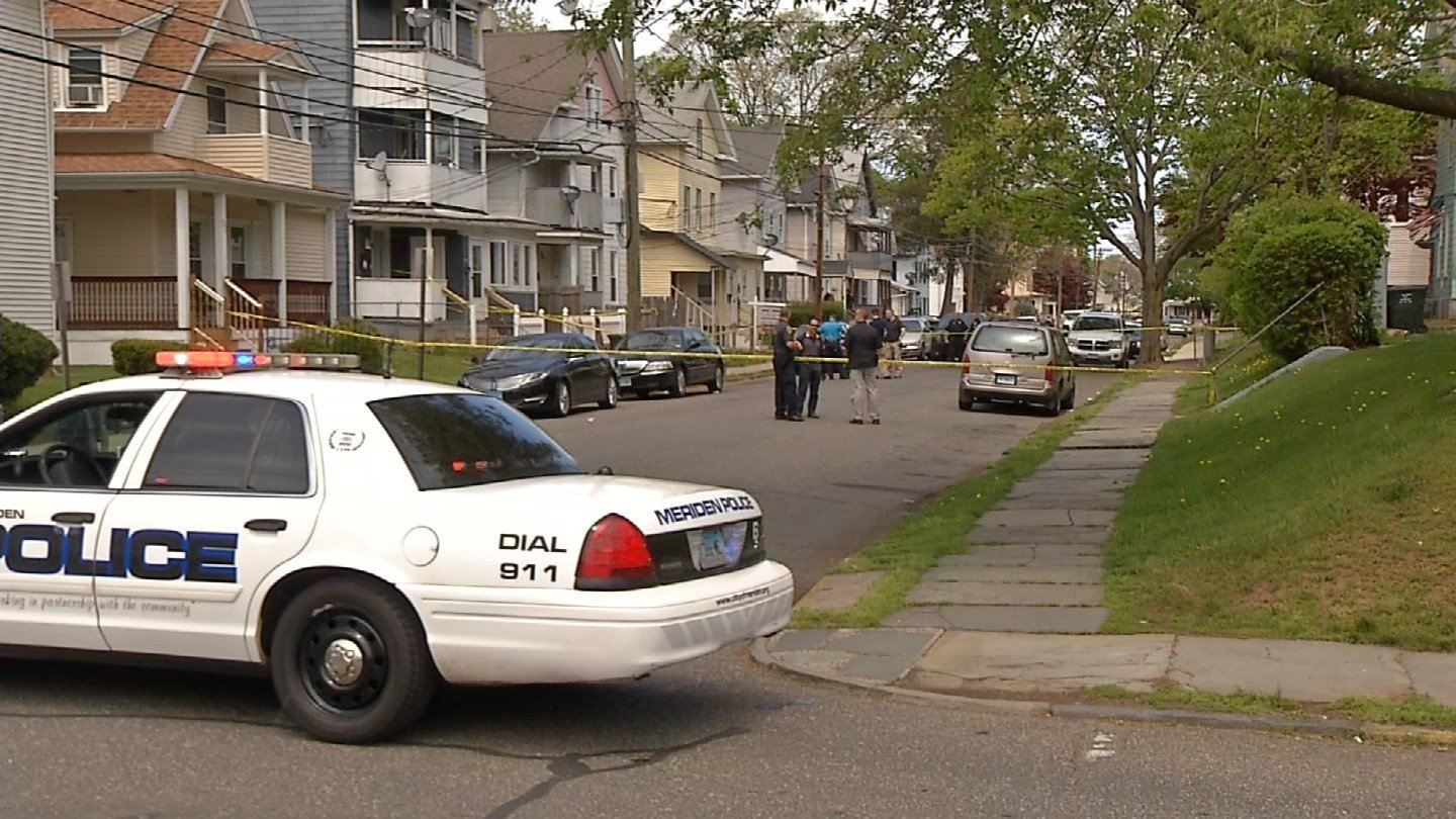 A man was shot multiple times in Meriden on  Tuesday morning. (WFSB)