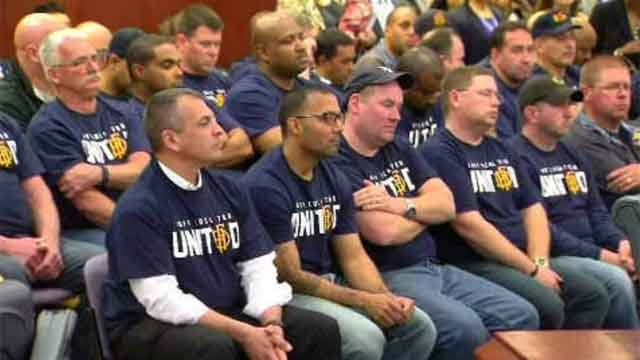 Some experienced Hartford firefighters are saying they are being forced to retire under the mayor's proposed budget cuts. (WFSB)