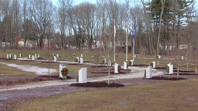 Veteran's Memorial Park in Middletown. (WFSB photo)