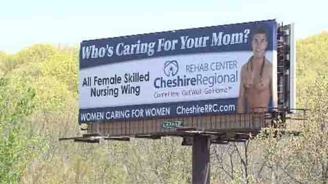Nursing billboard turns heads on I-84 in Waterbury (WFSB)