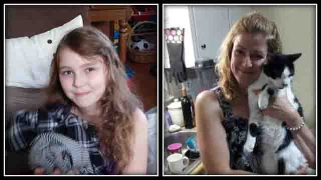 Suzanne Knight left abruptly on Tuesday night and took her young daughter Emma Mischaud with her. (Florida State Police)