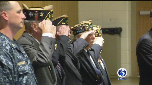 Local veterans and their families were honored in Cromwell. (WFSB)