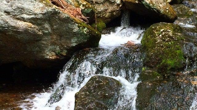 Spruce Brook Falls in Naugatuck