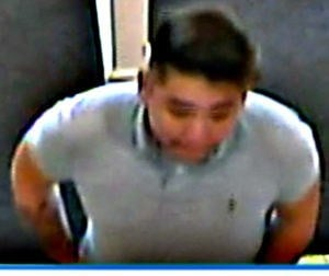 Suspect 1 connected to credit card theft. (Fairfield Police Dept.)