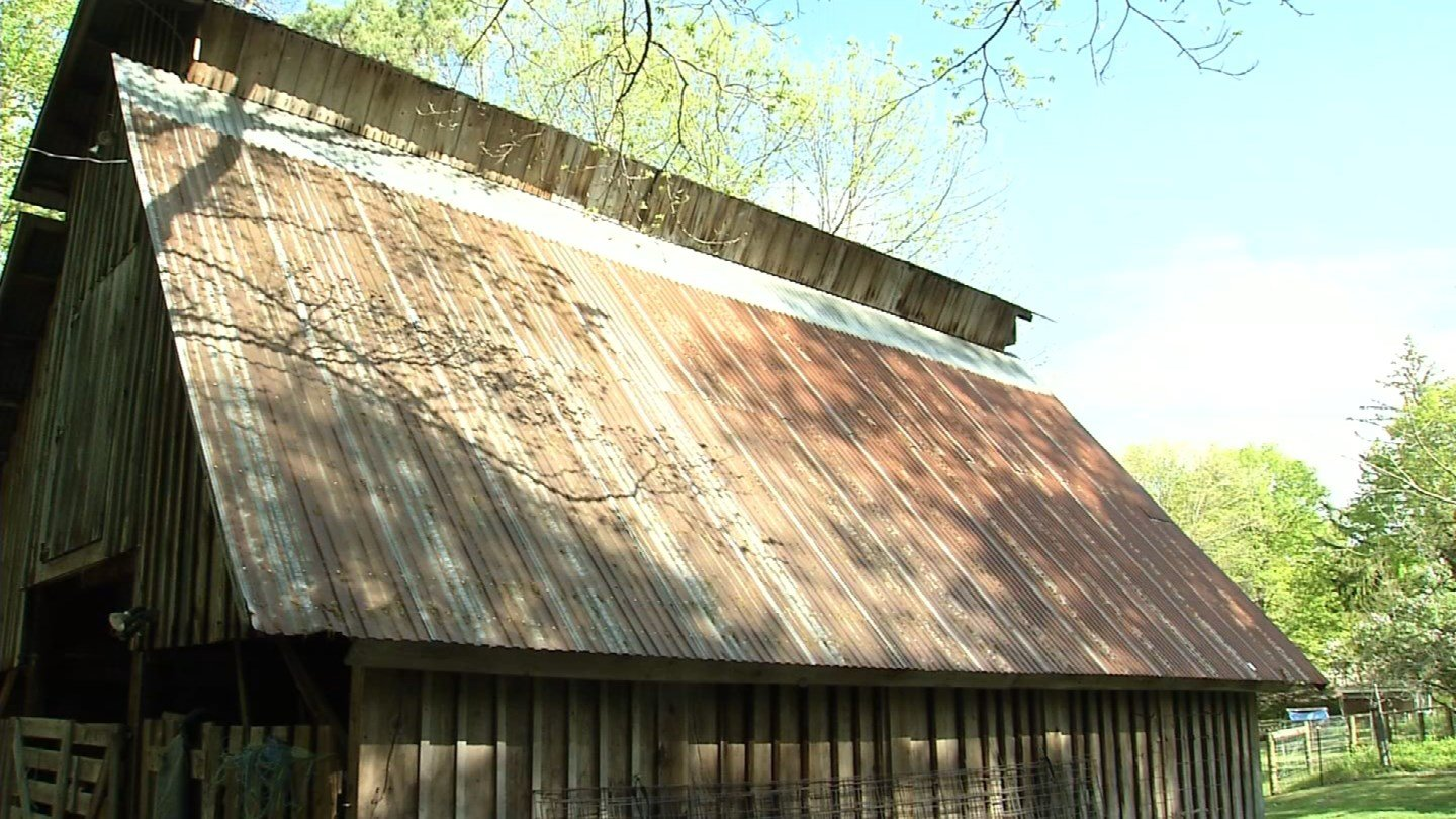 The Abbey of Regina Laudis said its prayers for a new barn roof were answered. (WFSB photo)
