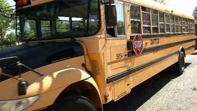 A union representing Hartford school bus drivers returns to the negotiating table with DATTCO on Friday. (WFSB file photo)