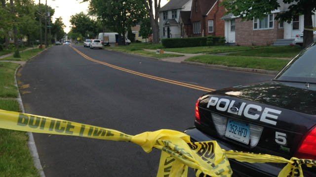 A man and woman were killed in a shooting that happened on Campfield Avenue and Cowles Street. (WFSB photo)
