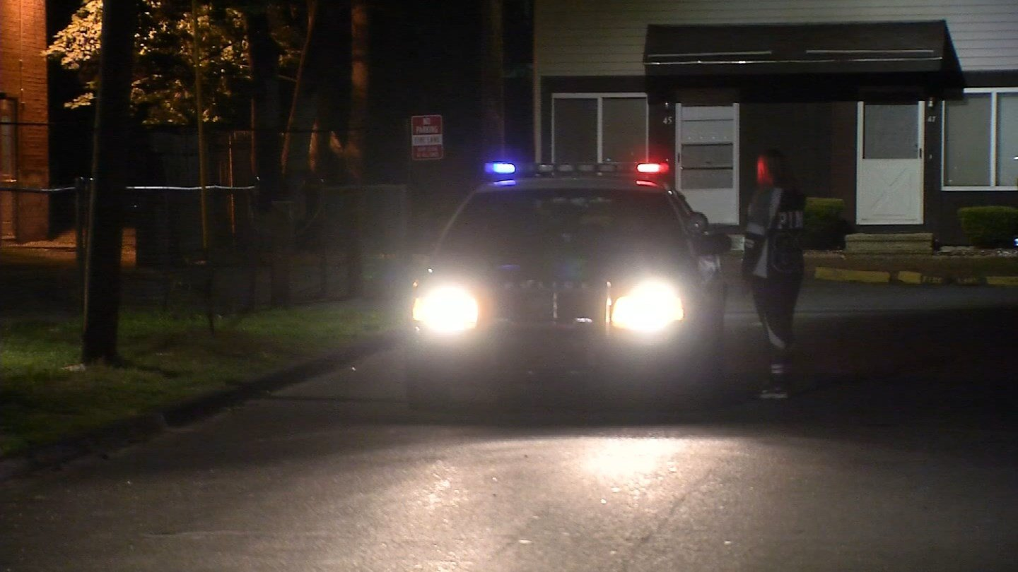 A man was found shot to death on Rector Street in East Hartford overnight. (WFSB photo)