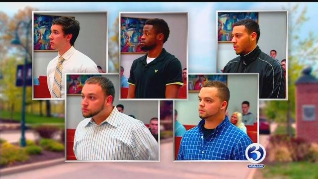 ECSU students appear in court on graduation day (WFSB)