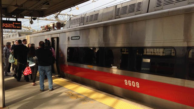 Metro-North operated on a Saturday schedule following Tuesday night's fire. (WFSB photo)