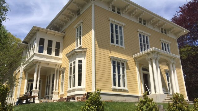 The Old Spicer Mansion has been transformed into a high end destination hotel. (WFSB)