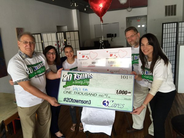 Channel 3 makes donation to Lily's Kids (WFSB)