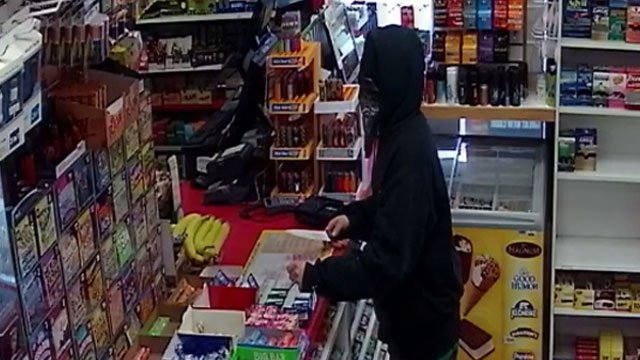 Police released this photo of the suspect in the attempted robbery at Citgo gas station. (Southington Police Department)