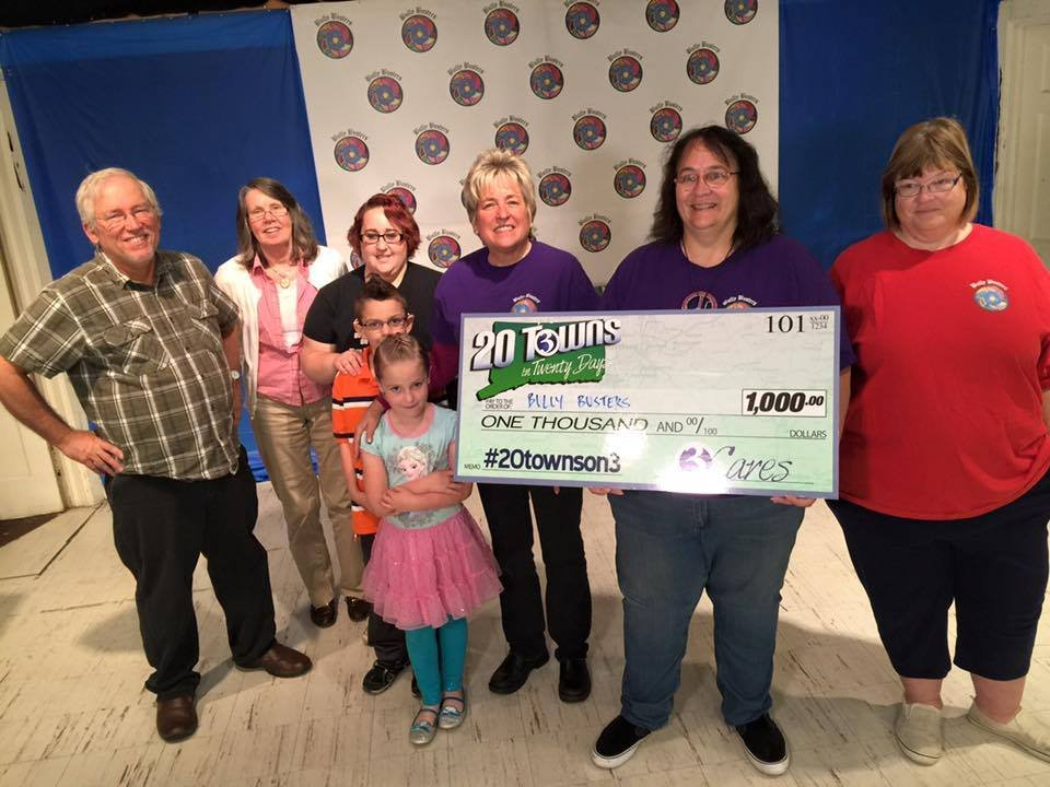 Channel 3 made a donation to Bully Busters in Norwich on Thursday (WFSB)