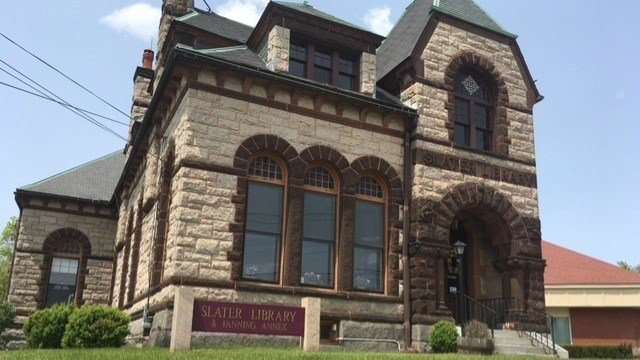 Slater Library will reopen tomorrow after it closed due to a septic issue. (WFSB)