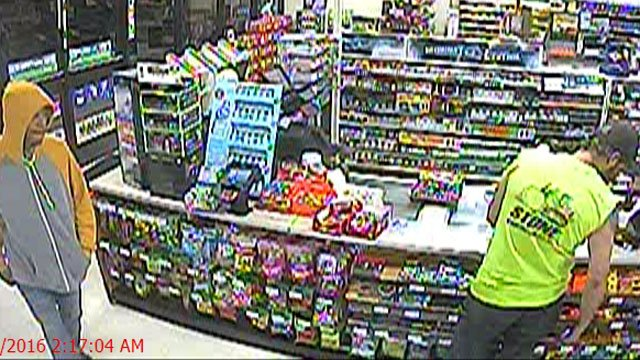 Police are searching for this man in connection with a robbery. (Bristol Police Department)