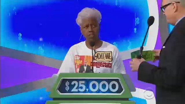 Adrianne Ward won the showcase showdown on the Price is Right in an episode that aired on Tuesday. (CBS photo)