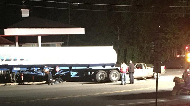 One man is dead following a crash on Route 44 in Coventry. (WFSB photo)
