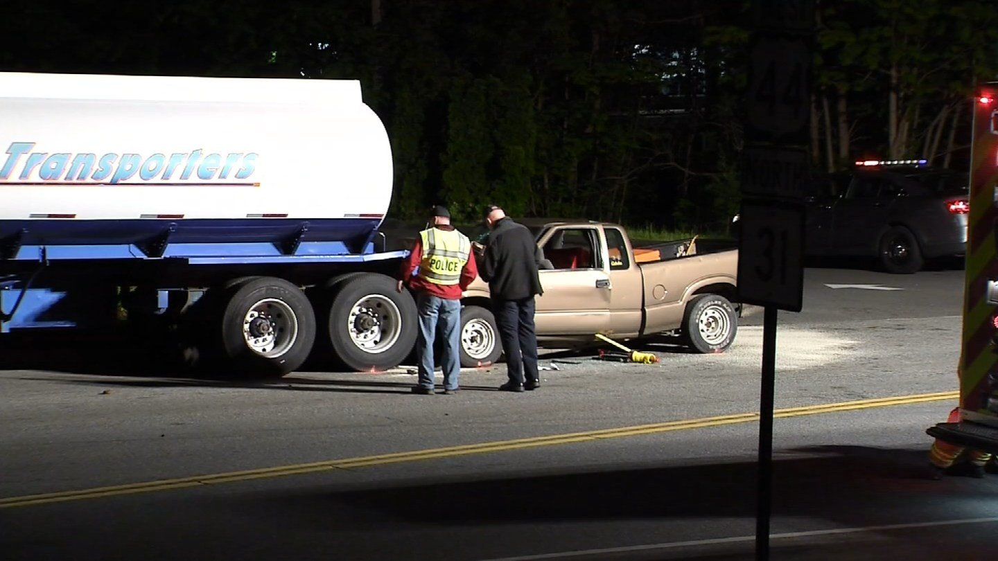 Coventry police identified the victim of a deadly crash that happened on Route 44 Tuesday night. (WFSB photo)