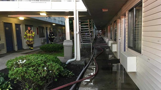 Fire at Motel 6 forces guests out (WFSB)