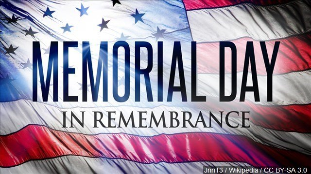 Cities and towns in Connecticut celebrate Memorial Day this weekend. (MGN)