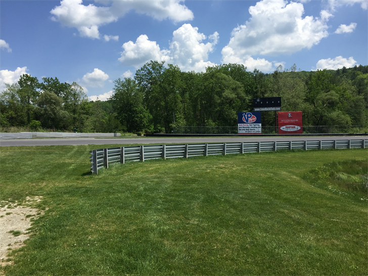 Andrew Palmer and Jorge De La Torre were injured on the Lime Rock race track. (WFSB)
