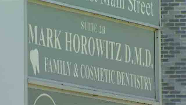 Mark Horowitz had his license suspended after police said he threatened a cable worker with a stun gun. (WFSB)
