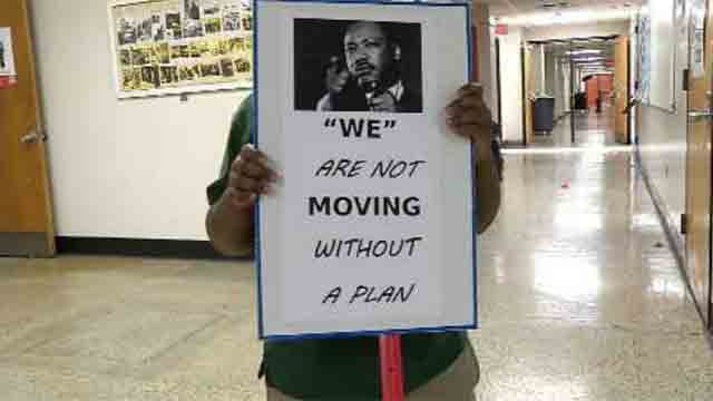 Martin Luther King Jr. Elementary School will be closing its doors due to budget cuts. (WFSB)