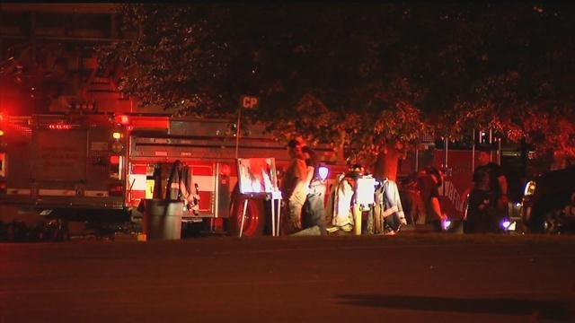 Crews in Bridgeport responded to the Wheelabrator Company on Tuesday night for the report of a fire. (WFSB)