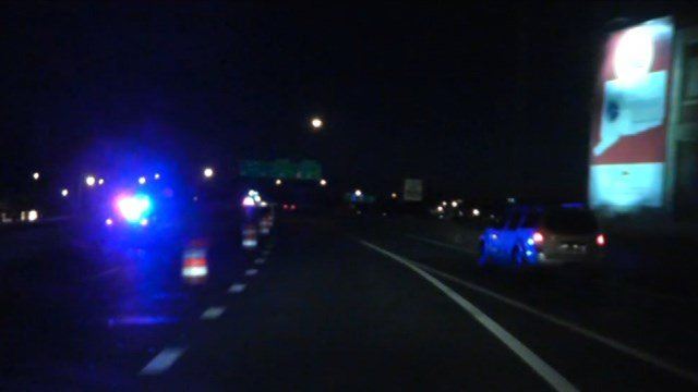 A man's body was found alongside I-84 east in Hartford Wednesday morning. (WFSB photo)
