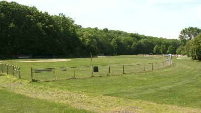 The park at Crystal Lake was sprayed with pesticides just hours before Middletown little leaguers began their game against Durham. (WFSB)