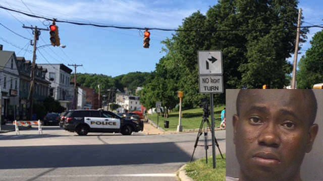 Patrick Antoine is scheduled to be arraigned on Friday. (Norwich police/WFSB photo)