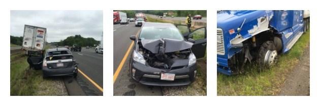 Accident Snarls Traffic