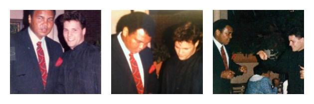 "Muhammad Ali and John ""IceMan"" Scully"