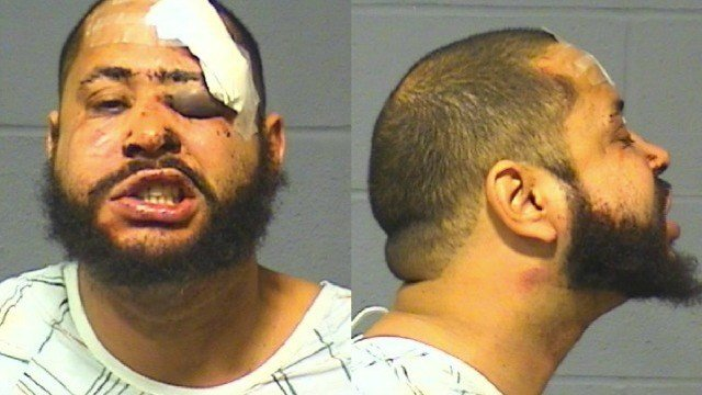 Ricardo Perez was charged with reckless driving and assault of officers.  (Hartford PD)
