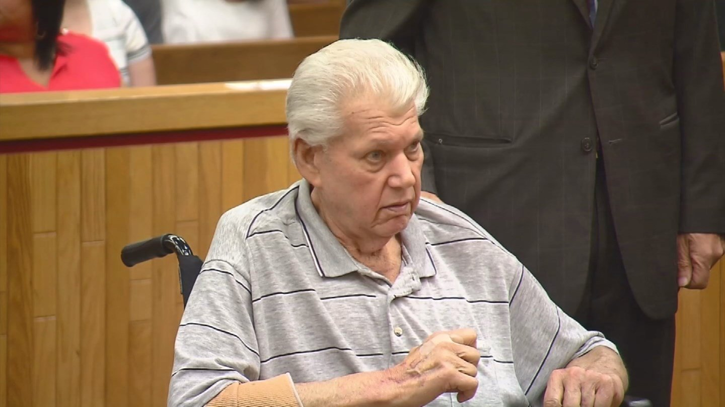 Robert Stackowitz during Monday's court appearance. (WFSB photo)