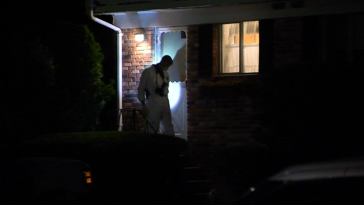 State police are investigating a teen's death on Allen Street in Montville. (WFSB photo)