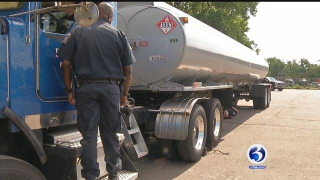 DMV is cracking down on commercial truck drivers. (WFSB)